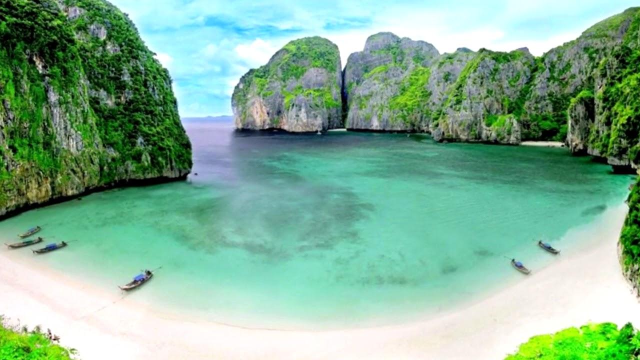 """Resultat d'imatges per a """"película la playa tailandia"""""""