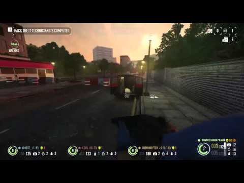 Cooperative 4 Player Payday 2 Car Shop Heist Take Down