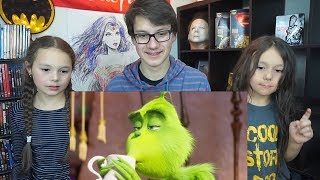 THE GRINCH Official Trailer #1 Reaction!!!