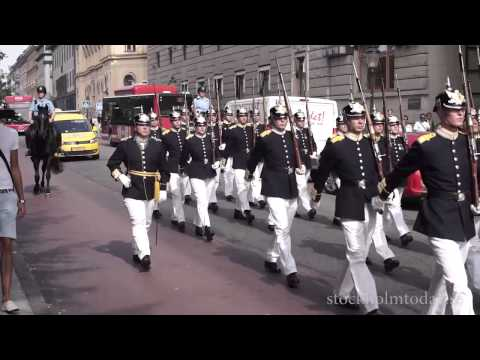 Stockholm today army parade