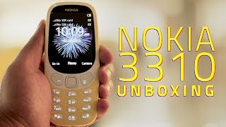 Nokia 3310 Unboxing and First Look