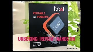 Compact Bluetooth Speaker | boAt STONE 200 | Unboxing Review | Sound Test