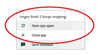 How To Fix Angry Birds 2 App Keeps Stopping Error In Android & Ios |