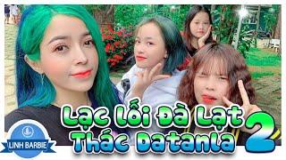 Lạc Lối Ở Đà Lạt P2 - Thác Datanla , Lạc Tiên Giới I Linh Barbie Vlog