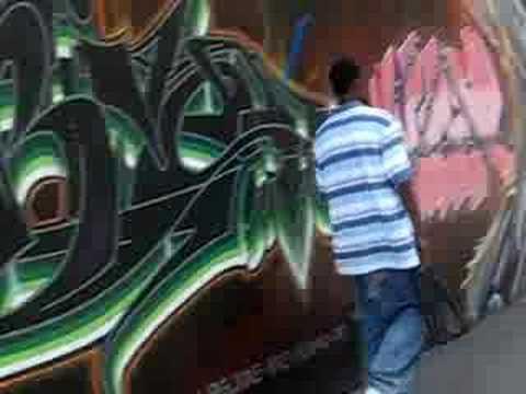 Tats Cru at Graffiti  Hall Of Fame