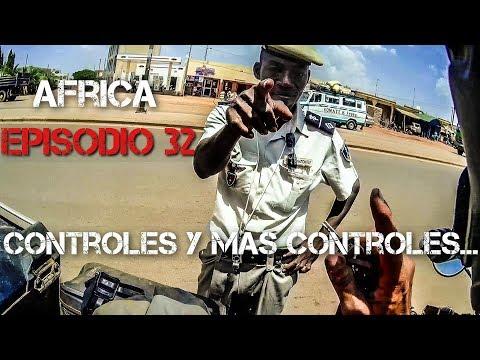 CONTROLES y más CONTROLES en Burkina Faso | Vuelta al mundo en moto | África #32