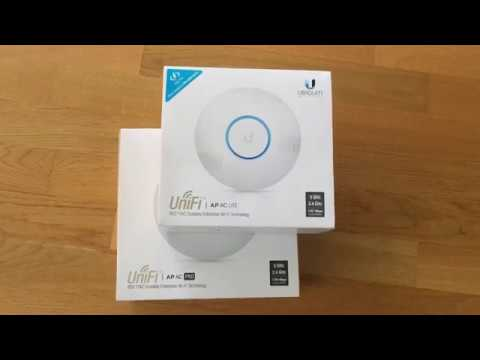 Fast roaming mit den ubiquiti unifi wifi access points einfach