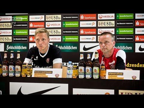 2. Spieltag | FCE - SGD | Pressekonferenz vor dem Spiel