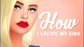 WHAT SKIN/EYES DO I USE?   THE SIMS 4 // HOW I CREATE MY SIMS!