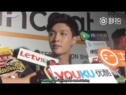 "160111 Pancoat PC Yixing interview - favourite pet name is ""husband"" (ENG SUB)"