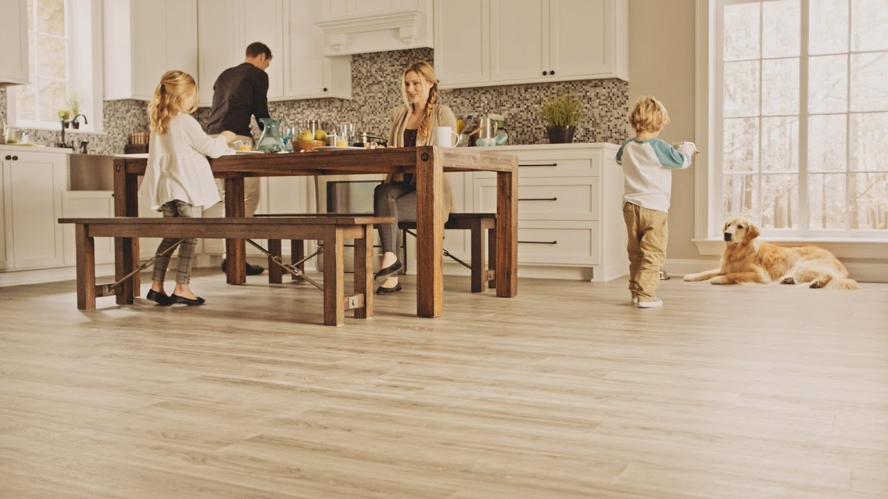 Waterproof Flooring That Looks Like Natural Hardwood Introducing Solidtech Vinyl Planks