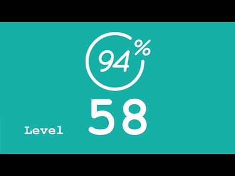94 Prozent (94%) - Level 58 - Weihnachten - Lösung