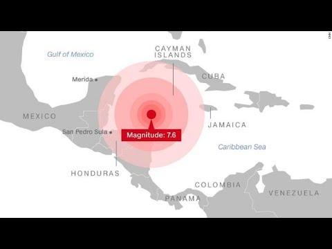 Earthquake, Honduras, Caribbean Sea, Tsunami warning system: