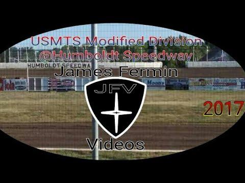USMTS Modifieds #13, Heat, Humboldt Speedway, 2017