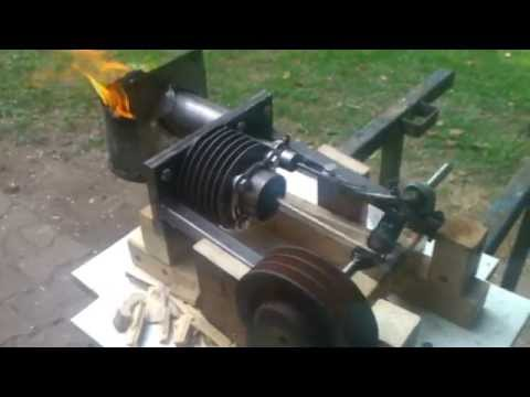 High temperature Stirlingengine