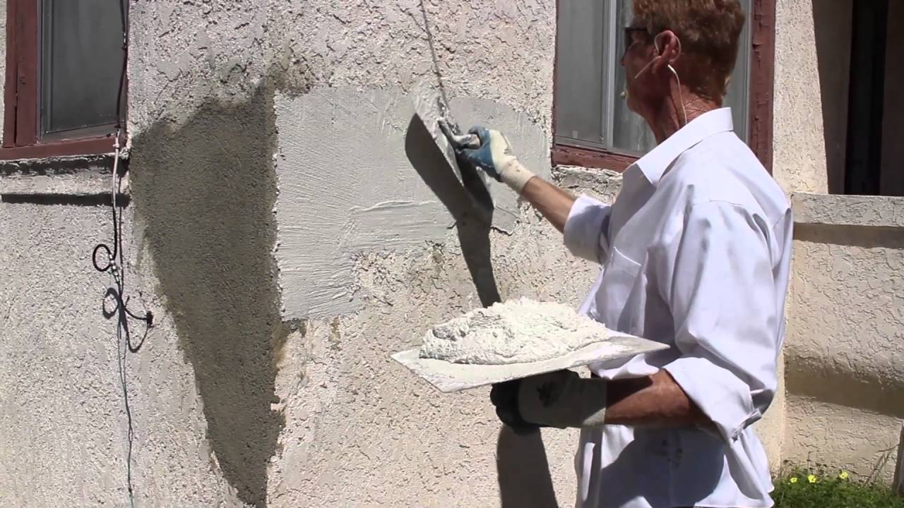 Structural Maintenance And Repairs On Stucco Or Plastered Walls Youtube