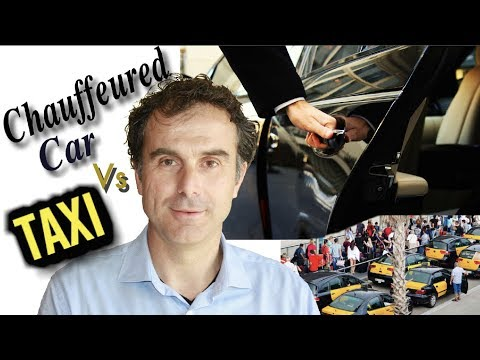 Barcelona private tour guide: chauffeured car or taxi ?