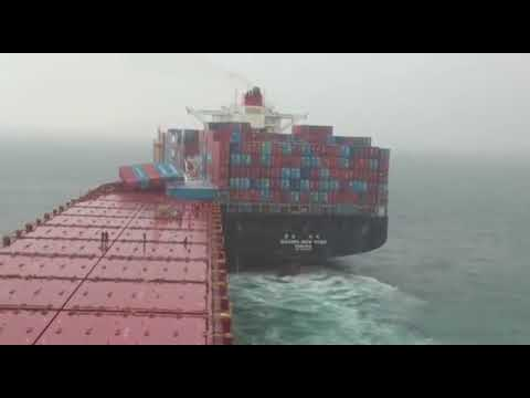 Ship Collisions at Sea