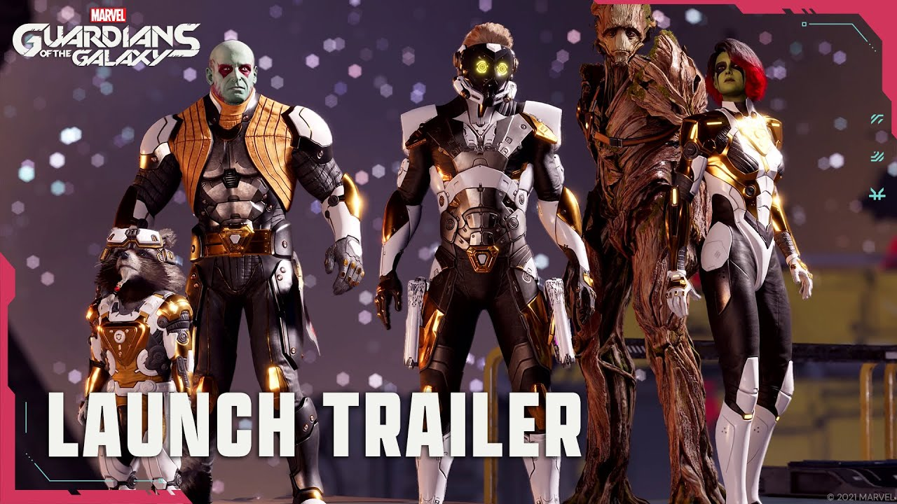Official Launch Trailer   Marvel's Guardians of the Galaxy   Marvel Games