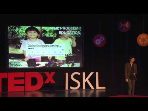 The Problem of Food.  Our Solution: Aquaponics | Yasmin Rasyid | TEDxISKL