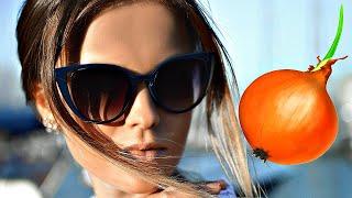 Луковая маска остановит выпадение волос и укрепит их за 2 применения Как сделать маску для волос