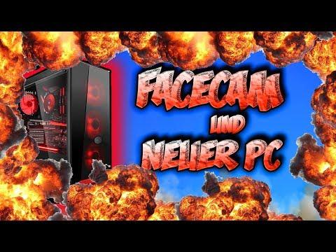 I am BACK!   NEUER PC + FACECAM !!!    Frozen X