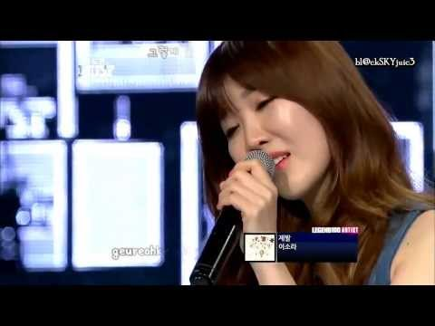 Lee Haeri (Davichi) - Please LIVE (eng Sub + Roman + Hangul)