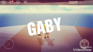 biography of GABY ROBLOX: 3