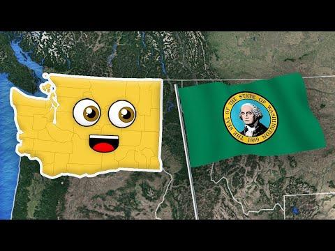 Washington State/Washington Geography/Washington
