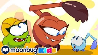 Om Nom Stories - Sandbox Builders! | Cut The Rope | Funny Cartoons for Kids & Babies | Moonbug TV