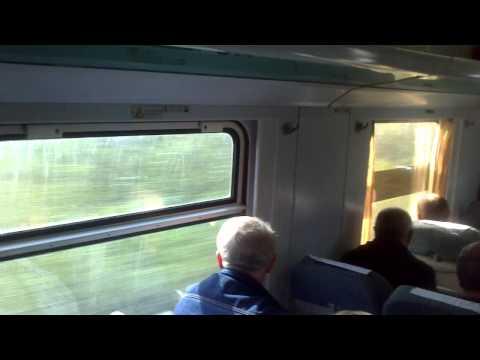 Tbilisi-Batumi High-speed train at 135 km/h