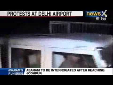 Asaram bapu scandal: Jodhpur police finally arrests Asaram from Jodhpur Ashram Travel Video
