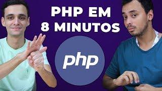 PHP EM 8 MINUTOS: Tudo Que Você Precisa Saber para Começar!