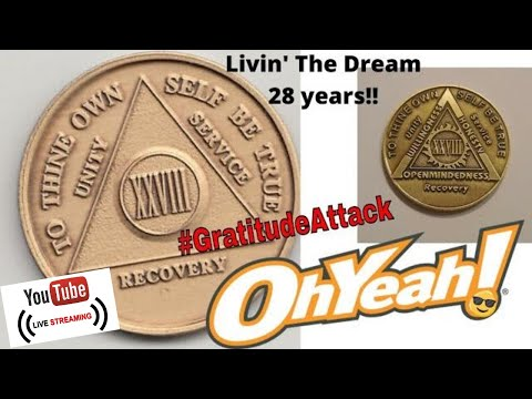 {LIVE} Day 10,227 = 28 Years | Keys To The Kingdom | THE Luckiest Guy In The World #GratitiudeAttack