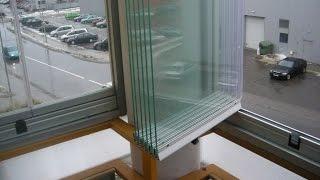 видео теплое остекление балконов