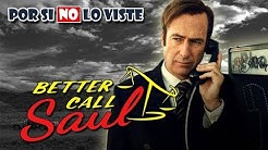 Por si no lo viste: Better Call Saul (Temporadas 1, 2 y 3)