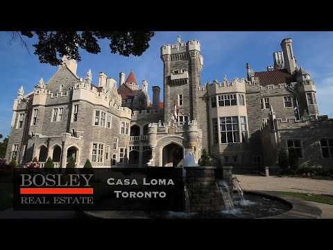 Casa Loma Toronto  -Castle, Forests And Mansions In The City