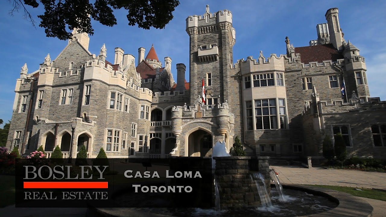 Casa loma toronto castle forests and mansions in the for Casa loma mansion toronto