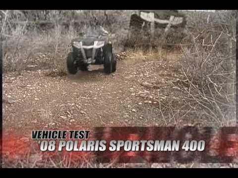 Atv Television Test Polaris Sportsman