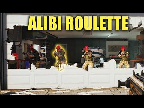 1v1 ALIBI ROULETTE!  Rainbow Six Siege Open Lob