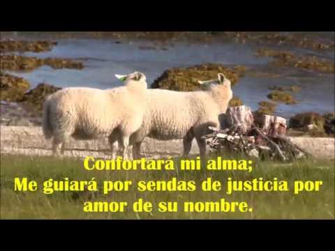 Salmo 23 Jehová es mi Pastor con bellas imágenes