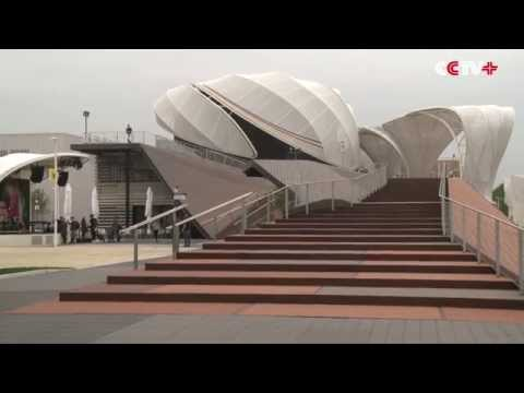 German Pavilion Grabs Attention of Visitors at Milan Expo