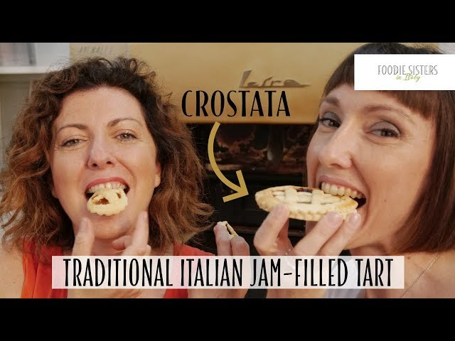 Traditional Italian Jam-filled Tart - Foodie Sisters in Italy