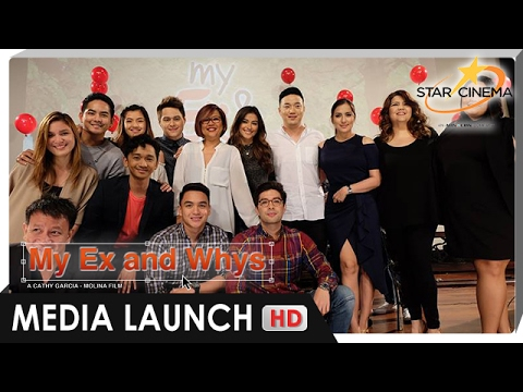 Download [FULL] My Ex and Whys Media Launch   Liza Soberano, and Enrique Gil   'My Ex and Whys'