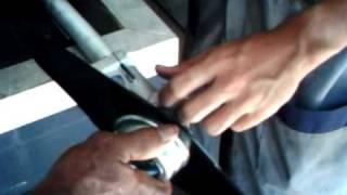 Montando uma roçadeira