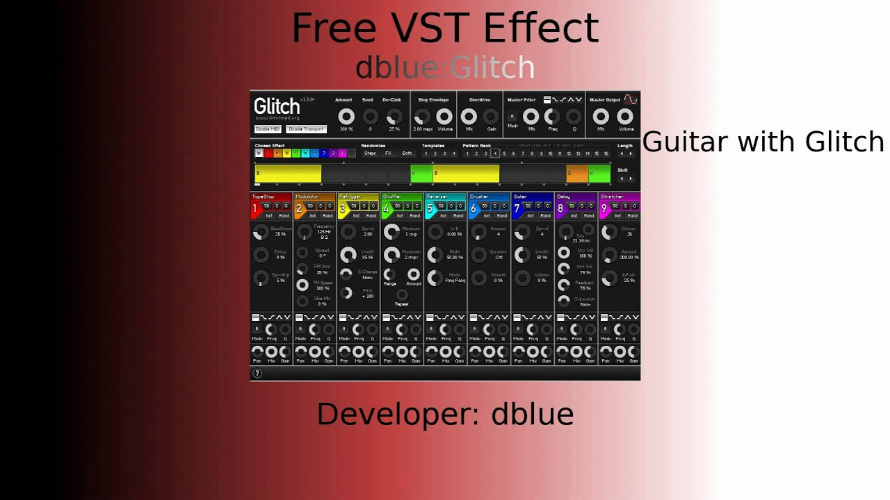 Glitch vst download