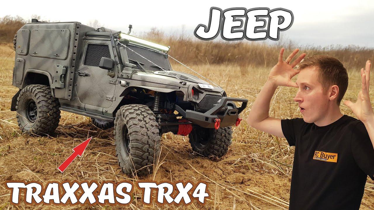 Бронированный JEEP ... Идеальный баланс на Traxxas TRX-4