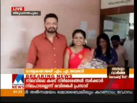 M A Baby's Son Ashok Wedding | News Coverage Videos | Manorama Online