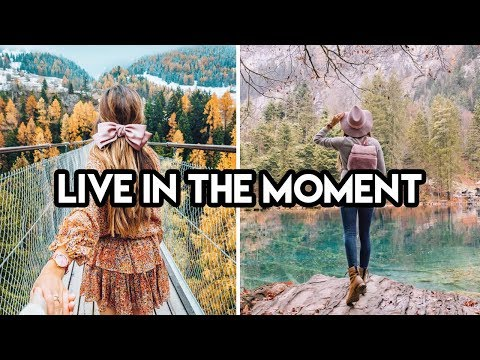 LIVING IN THE MOMENT | Amelia Liana
