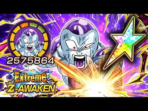 100% EZA INT F2P FRIEZA FINAL FORM SHOWCASE & STICKER EFFECT! Dragon Ball Z Dokkan Battle